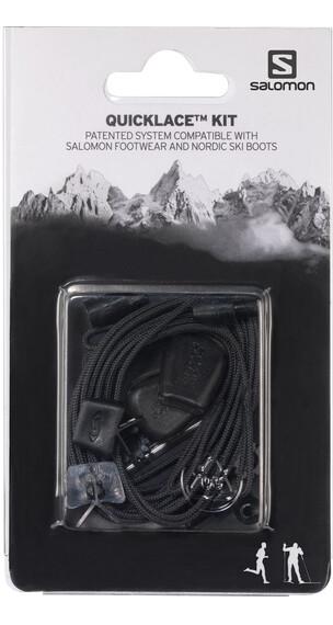 Salomon Quicklace Kit , musta